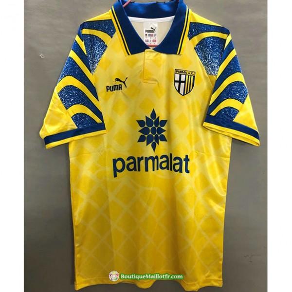 Maillot Parme Calcio Retro 1995 97 Jaune