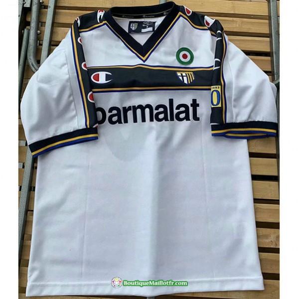 Maillot Parme Retro 2001 02 Domicile