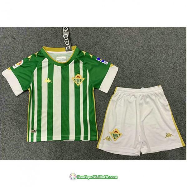 Maillot Real Betis Enfant 2020 2021 Domicile