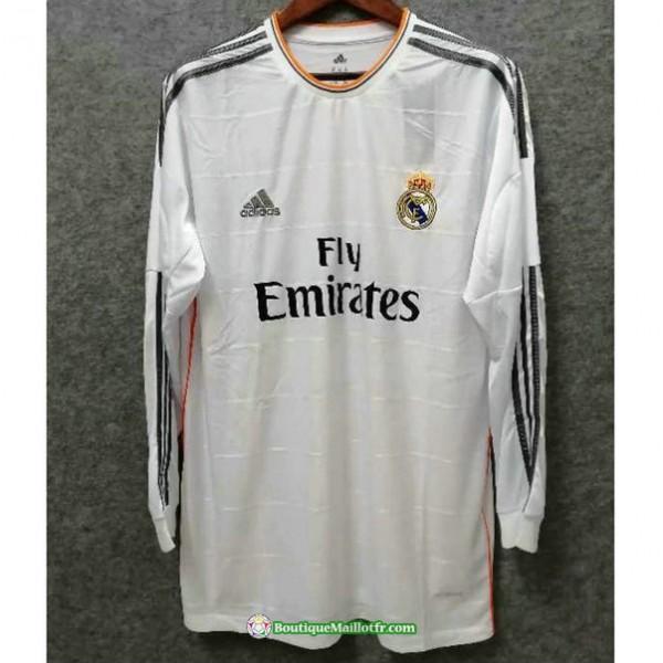 Maillot Real Madrid Retro 2013 14 Domicile Manche ...