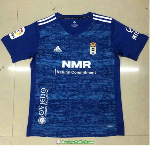 Maillot Real Oviedo 2020 2021 Domicile