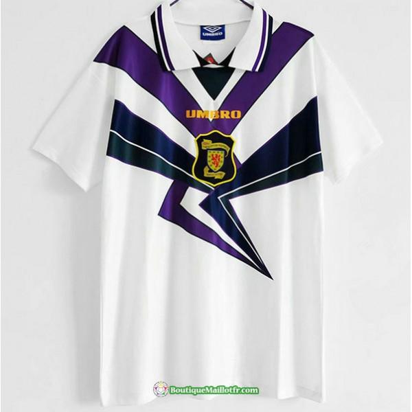 Maillot Retro Écosse Blanc