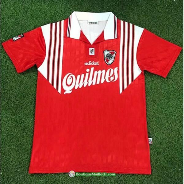 Maillot River Plate Retro 1995 96 Exterieur Rouge