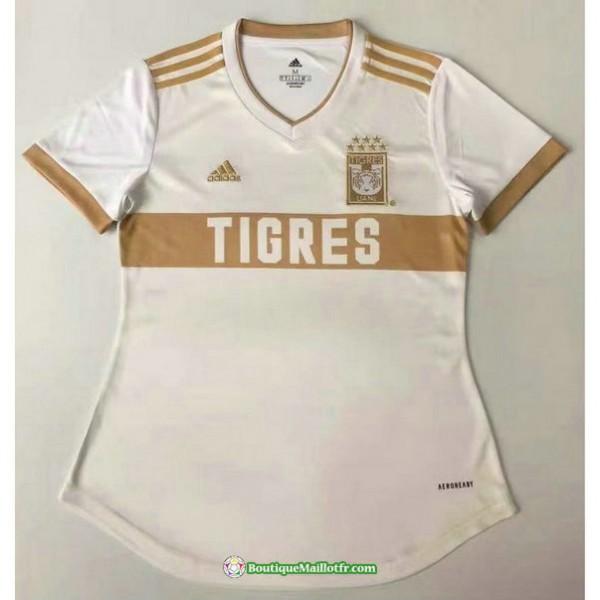 Maillot Tigres Femme Blanc 2021 2022
