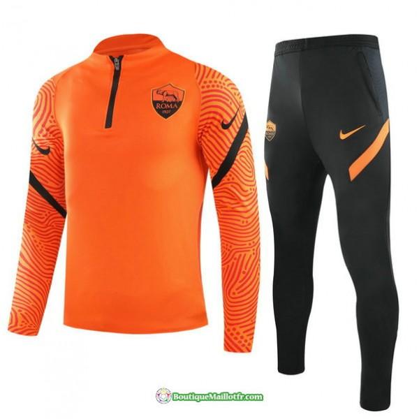 Survetement As Roma 2021 2022 Orange