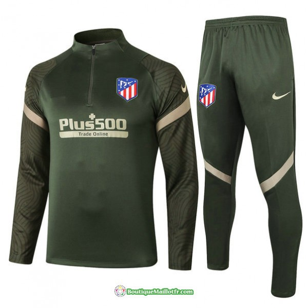 Survetement Atletico Madrid 2020 2021 Armee Verte