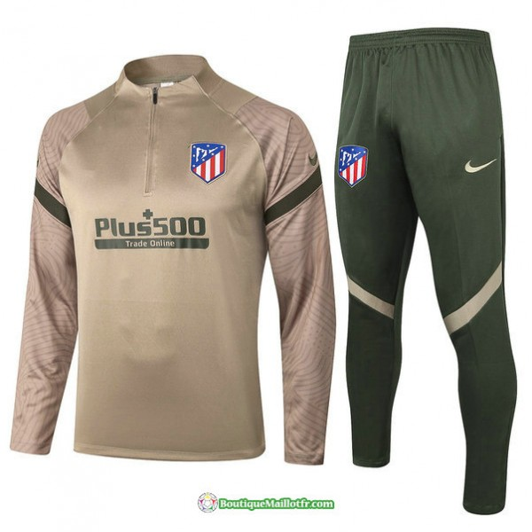 Survetement Atletico Madrid 2020 2021 Kaki