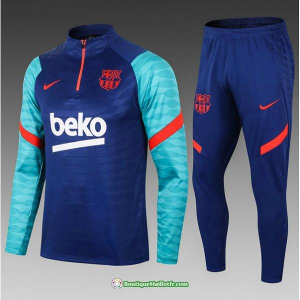 Survetement Barcelone 2021 2022 Enfant Bleu Color�...