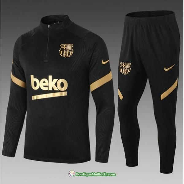 Survetement Barcelone 2021 2022 Enfant Noir/doré
