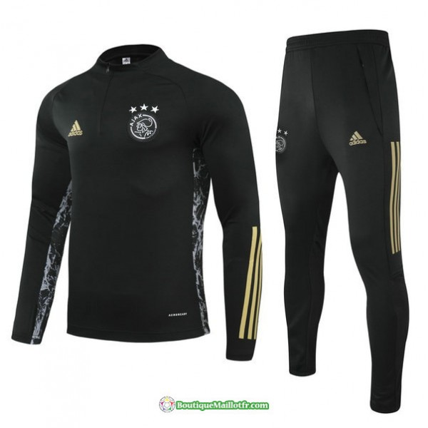 Survetement Champions League Ajax 2021 2022 Noir