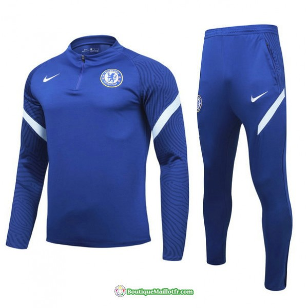 Survetement Chelsea 2021 2022 Enfant Bleu Marine