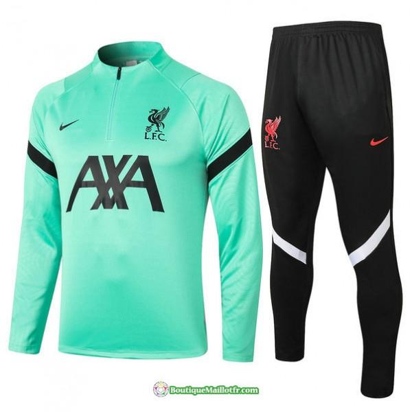 Survetement Liverpool 2020 2021 Vert