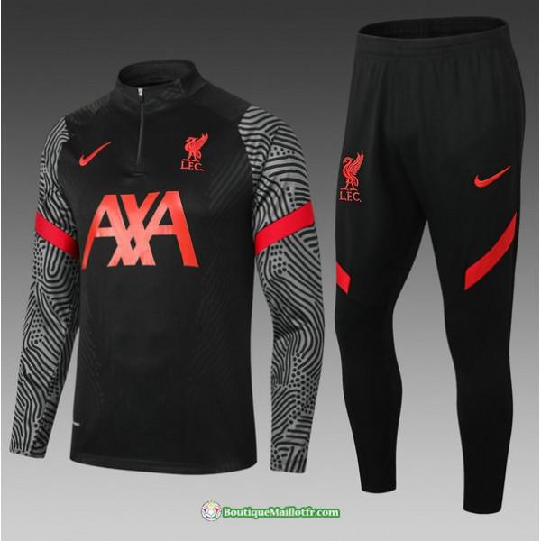 Survetement Liverpool 2021 2022 Enfant Noir