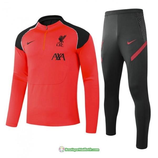 Survetement Liverpool 2021 2022 Orange Player