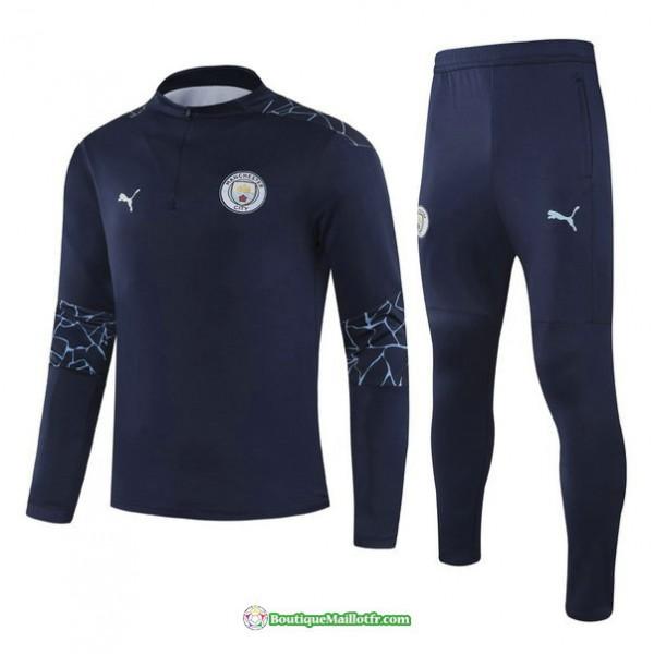 Survetement Manchester City 2021 2022 Bleu Marine