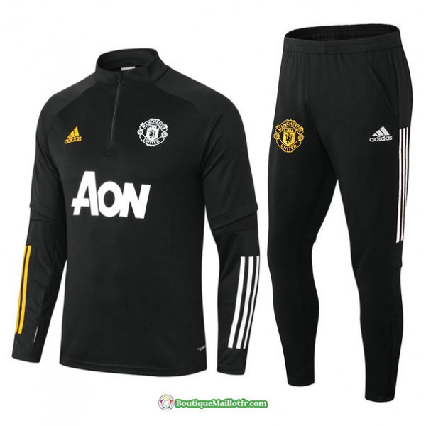 Survetement Manchester United 2021 2022 Noir