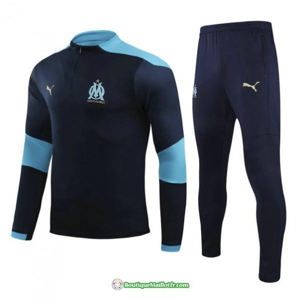 Survetement Marseille 2021 2022 Bleu Marine