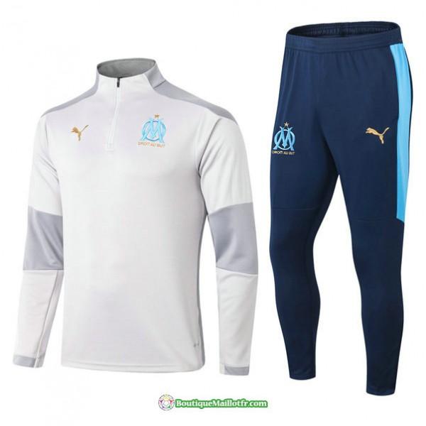 Survetement Marseille 2021 2022 Gris
