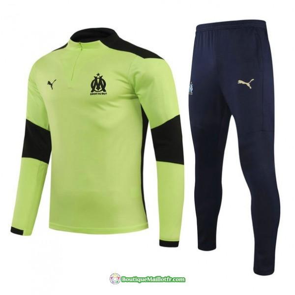 Survetement Marseille 2021 2022 Vert Clair