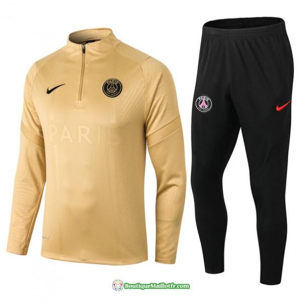 Survetement Paris Saint Germain 2021 2022 Kaki