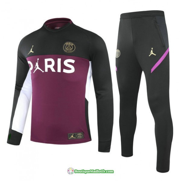 Survetement Paris Saint Germain Jordan 2021 2022 V...