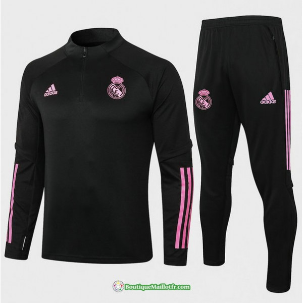 Survetement Real Madrid 2020 2021 Noir