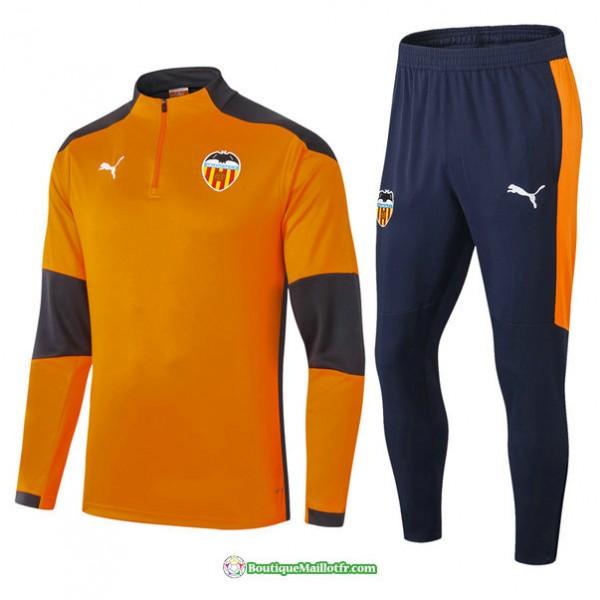 Survetement Valence 2021 2022 Orange