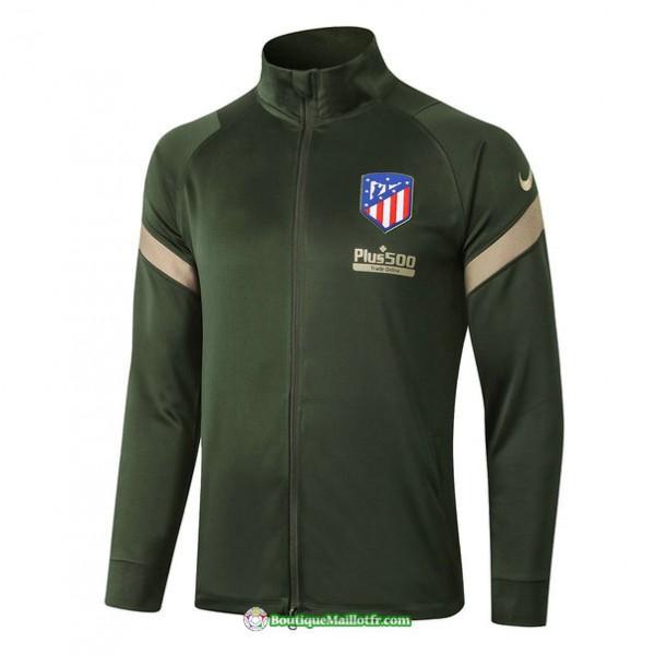 Veste Atletico Madrid 2020 2021 Armee Verte