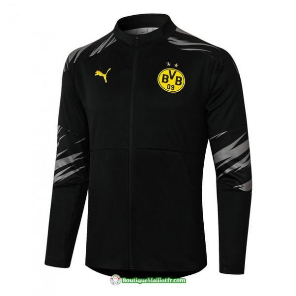 Veste Borussia Dortmund 2020 2021 Noir