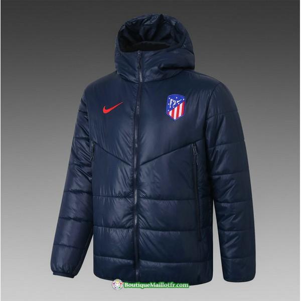 Veste Doudoune Atletico Madrid 2020 2021 Bleu Mari...