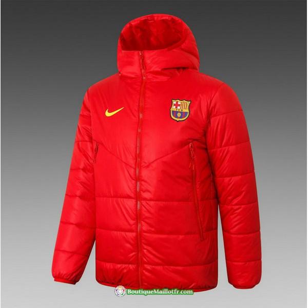 Veste Doudoune Barcelone 2020 2021 Rouge