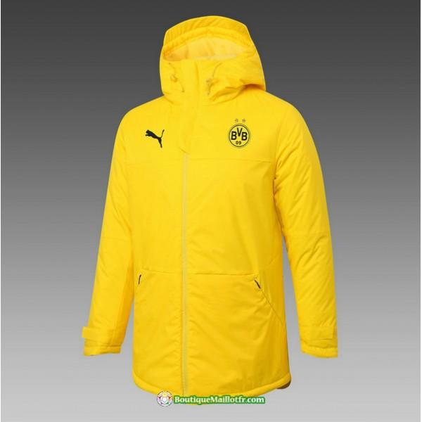 Veste Doudoune Borussia Dortmund 2020 2021 Jaune
