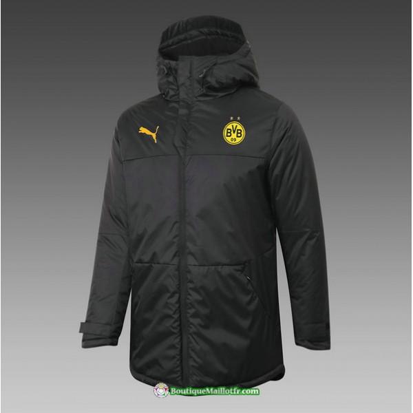 Veste Doudoune Borussia Dortmund 2020 2021 Noir