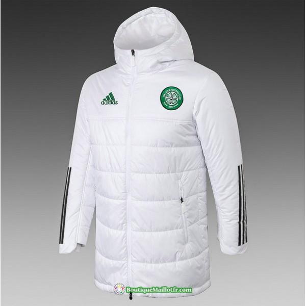 Veste Doudoune Celtic 2020 2021 Blanc
