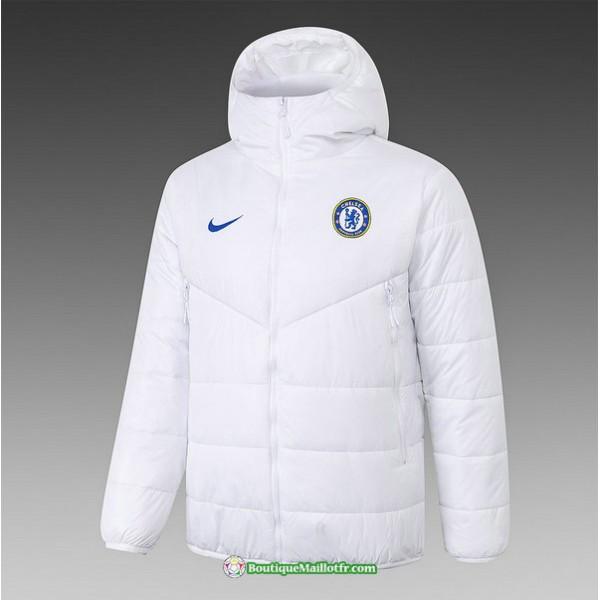 Veste Doudoune Chelsea 2020 2021 Blanc