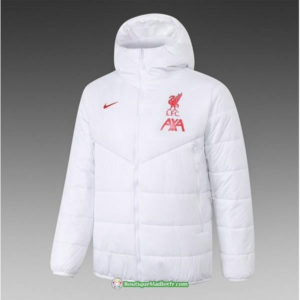 Veste Doudoune Liverpool 2020 2021 Blanc