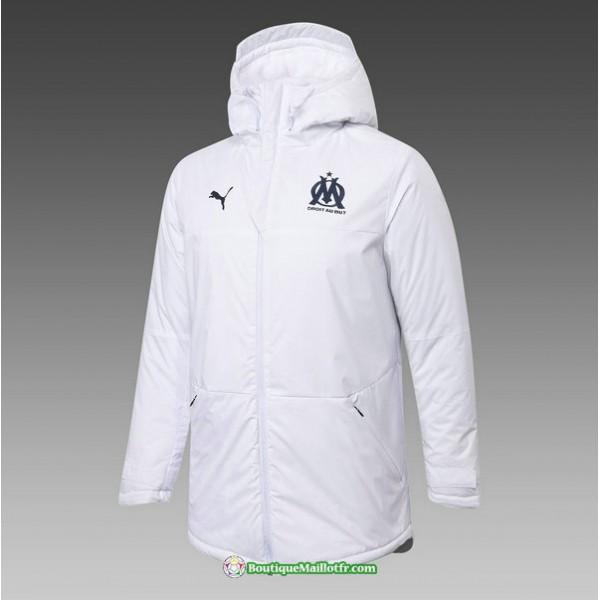 Veste Doudoune Marseille 2020 2021 Blanc