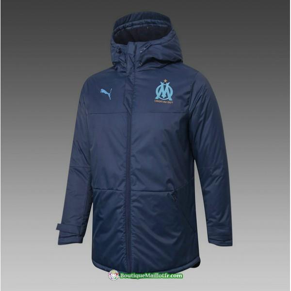 Veste Doudoune Marseille 2020 2021 Bleu Marine