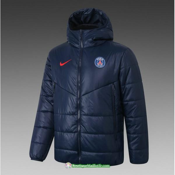Veste Doudoune Paris Saint Germain 2020 2021 Bleu ...