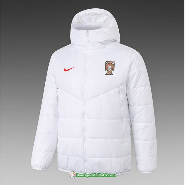 Veste Doudoune Portugal 2020 2021 Blanc