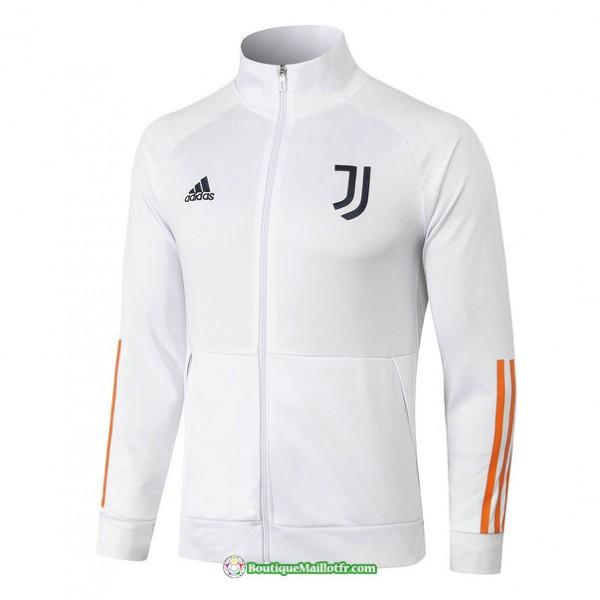 Veste Juventus 2020 2021 Col Haut Blanc