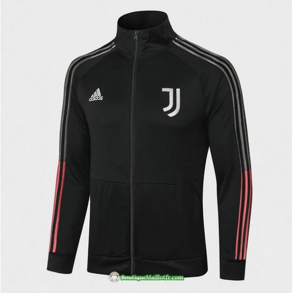 Veste Juventus 2020 2021 Col Haut Noir