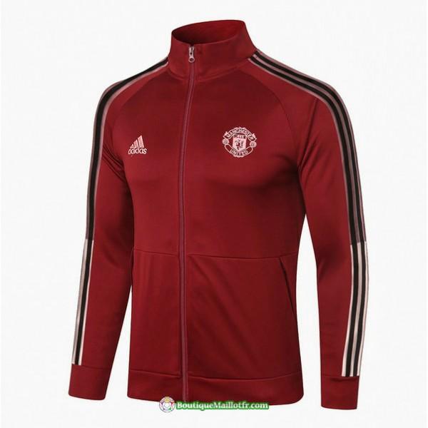 Veste Manchester United 2020 2021 Bordeaux
