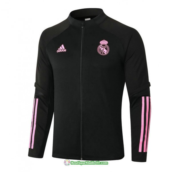 Veste Real Madrid 2020 2021 Noir/rouge