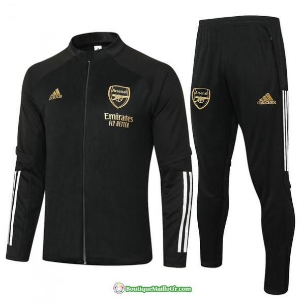 Veste Survetement Arsenal 2020 2021 Noir