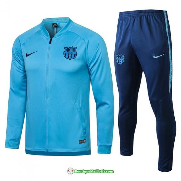 Veste Survetement Barcelone 2021 2022 Bleu Clair