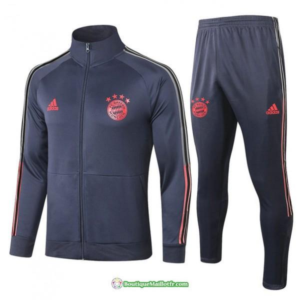 Veste Survetement Bayern Munich 2020 2021 Col Haut...