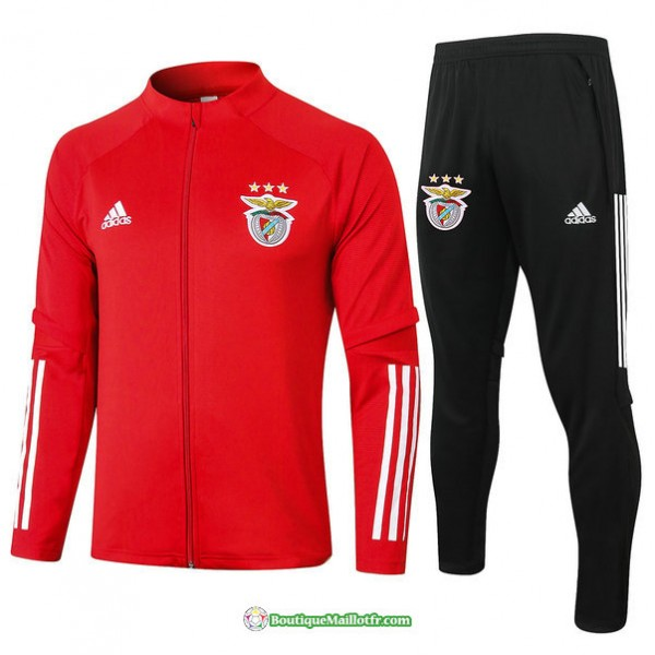 Veste Survetement Benfica 2020 2021 Rouge