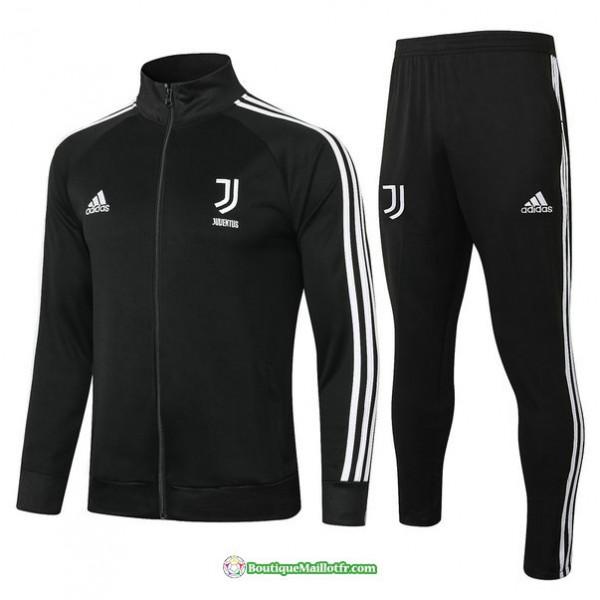 Veste Survetement Juventus 2020 2021 Noir/blanc