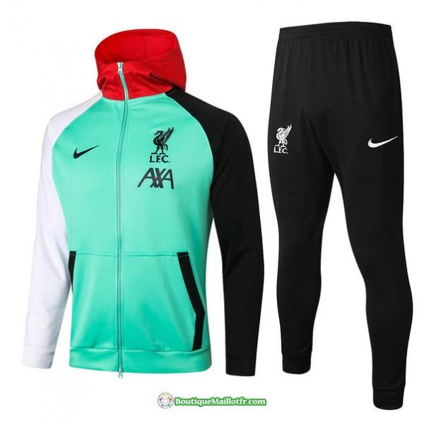 Veste Survetement Liverpool 2020 2021 à Capuche V...